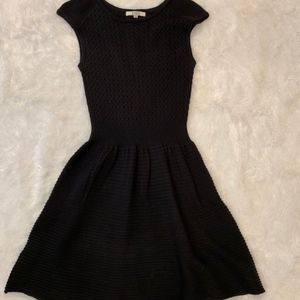 BB Dakota Black Knit Dress